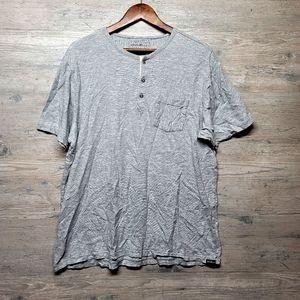 Eddie Bauer Soft Knit Henley Shirt. Brand New!